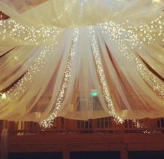 Great use I tule and lights!