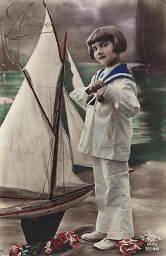 Children380 Vintage Girls, Vintage Children, Vintage Postcards, Vintage Images, Vintage Nautical, Beach, Photography, Painting, Free