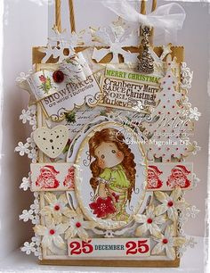 Suzi Mac Creations : Midweek Magnolias DT #97 Christmas is coming!!!