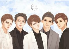 New #artwork #fanart by #monster #dbsk #db5k #jyj #tvxq #aktf
