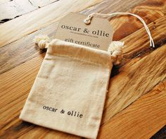 25 dollar gift certificate for oscar & ollie gift by oscarandollie, $25.00