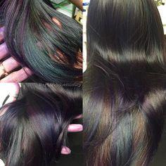 Oil slick hair #oilslickhair