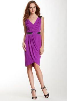 Ivy & Blu Sleeveless Wrap Dress