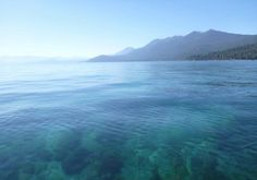 """Tahoe Waters."" iPhone image made by Millicent Meng, Summer 2011, off the West Shore."