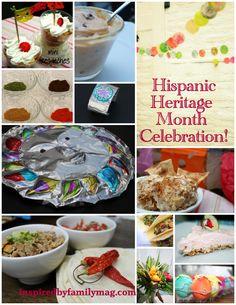 Hispanic Heritage Month- Crafts, recipes, kid activities
