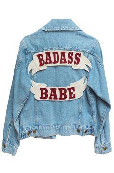 Badass Babe Denim Jacket