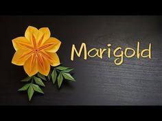 (5) Origami Tutorial: Marigold (Toshikazu Kawasaki)|Hello Malinda - YouTube