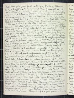 Cecil Beaton's first journal, 1922 --- bucketlist: learn to write cursive, old school, with a fountain pen