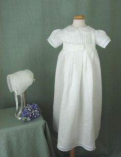Boys Christening Gown Baptism Gown in by embroideredheirlooms