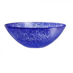 Kosta Boda Tellus Bowl in Blue - 7050910