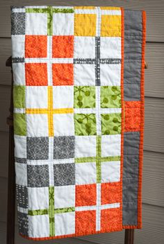 Puncation Plus Quilt  (her first quilt!) | Kate Peregrinate