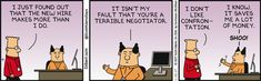 New Hire Makes More - Dilbert Comic Strip on 2017-01-13 | Dilbert by Scott Adams