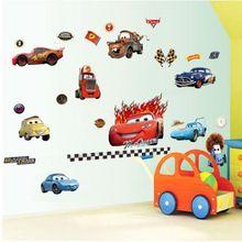 50cm * 70cm Pixar autók matrica Gyermek rajzfilm fali matrica gyerekeknek szoba…