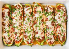 Lasagna Zucchini Boats | Cooking Classy
