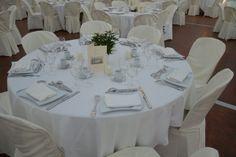 #mariage #table #blanc #decoration #presentation