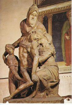 MICHELANGELO 1475-1564 « PIETA -1555 Museo del Duomo Santa Maria del Fiore, Firenze