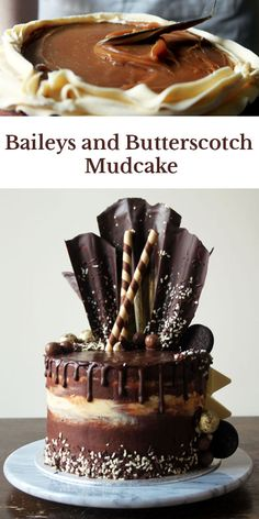 The Ultimate Baileys and Butterscotch Mudcake!