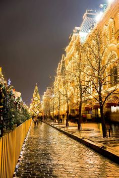 Christmas in Red Square, Moscow