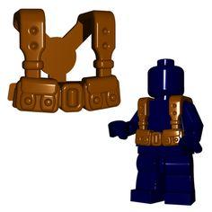 Custom police SWAT personnage de LEGO ® Parties Et Custom accessoires armes MG fusil