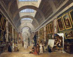 Retrospective Hubert Robert au Louvre - avril 2016