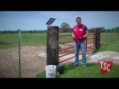 Yard: Installing an Automatic (solar powered) Gate Opener