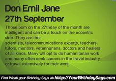 What your Birthday says about your career