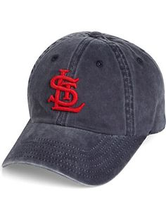 American Needle Navy St. Louis Cardinals Vintage Baseball Hat - Men's Wearhouse