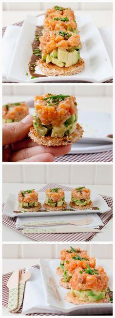 Individual Salmon and Avocado Tartlets Recipes