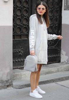 Zalando Outfits Calvin Klein, Stan Smith, Jeans, Adidas Originals, Sporty, Shirt Dress, Outfits, Dresses, Fashion