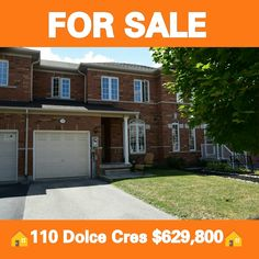 I'm excited to share this new property I just listed 🚨FOR SALE🚨. Welcome to 110 Dolce Crescent in the sought out community of Vellore Village. It is a 3 bedroom Townhouse with a finished basement listed $629,800. Message me today with any interest or a private showing! #petercerrito #royallepage #townhouse #justlisted #forsale #house #home #invest #investment #905 #416 #the6ix #6ix #woodbridge #vellore #vaughan #york #yorkregion #toronto #vaughanrealestate #kleinburg #nobleton #kingcity