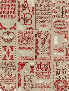 Alphabet, Cross Stitch Samplers, Cross Stitching, Blackwork, Christmas Projects, Patch, Couture, Old And New, Needlework