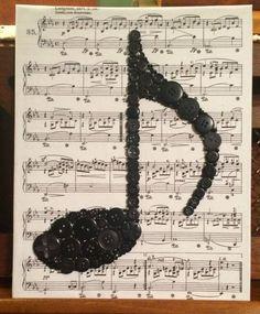33 ideas for music wall art diy etsy