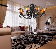 mexican wrought iron chandeliers - Google Search