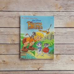 New in The Book Cottage: Rescuers Down Under  Disney Children's Book  Vintage Rescuers Book  Fun Disney Story  Upcycle Disney Pages   Retro 90s Disney Gift by TheBookCottage