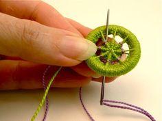 DIY Craft - How to: Make dorset buttons
