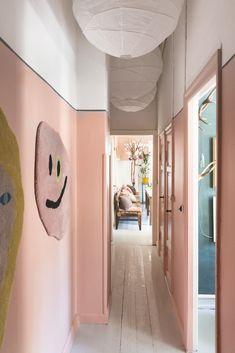 Sofie and Joakim Linde Ingversen's home Cafe Interior, Interior And Exterior, Interior Design, Room Inspiration, Interior Inspiration, Minimalist Home, House Colors, Colorful Interiors, Decoration