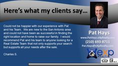 http://ift.tt/2c7gLrB Specialties: Buyers Agent  Listing Agent  Relocation  New Home Construction   The Pat Hays Group at eXp Realty knows that you deserve a Real Estate Team who is committed to helping you buy or sell your home with the highest level of expertise in your local market.  This means we are able to help you understand each step of the buying or selling process.  This level of commitment has helped The Pat Hays Group build a remarkable track record of delivering results and very…