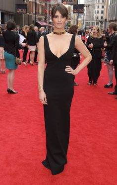 Pin for Later: The Stars Brought Sexy Back to London at the Olivier Awards Gemma Arterton