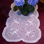 Instant-Print Table Runner crochet pattern