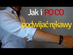 Koszule Męskie - jak i po co podwijać rękawy - YouTube