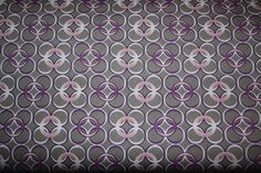 One Yard Art Gallery Coquette Collection Fabric - Mod Rings Slate CO-9208 - pinned by pin4etsy.com