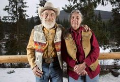 """Former Rockfordians Tom and Nancy Oar's surroundings and lifestyle will be featured on a new """"Mountain Men"""" series on the History Mountain Men Tom, History Tv Shows, History Chanel, Alaskan Bush People, Men Tv, Wife And Kids, Back To Nature, Famous Celebrities, Man Photo"""