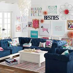 Teen Lounge Furniture & Teen Lounge Decor   PBteen