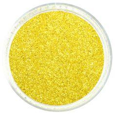 Unmellow Yellow Glitter Powder – Iridescent Glitties Glitter   #spring #pantone #glitter #yellow #powder Cosmetic Grade Glitter, Yellow Glitter, Beautiful Nail Art, Arts And Crafts Projects, Pantone, Iridescent, Powder, Spring, Yellow