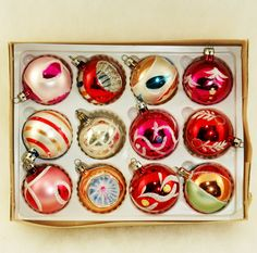 hmmm... must get the antique Christmas ball collection to the studio