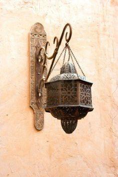 Old classic Arab lamp. Old classical Arab wall lamp , Arabic Decor, Islamic Decor, Lantern Lamp, Candle Lanterns, Chandeliers, Indian Meditation, Moroccan Interiors, Moroccan Bedroom, Patio Interior