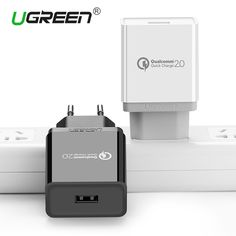 Ugreen Quick Charge 2.0 Phone Charger 5V2A 9V2A 12V1.5A Fast Wall USB Charger for iPhone 7 Samsung Galaxy S6 Edge Xiaomi EU Plug