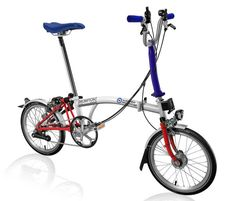 Special limited edition RAF Benevolent Fund Brompton bike