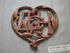 Fancy Letters, Wood Carving Art, Woodcarving, Projects To Try, Mugs, Creative, Inspiration, Home Decor, Scores