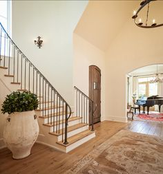 Staircase. Traditional French Staircase Ideas. #Staicase